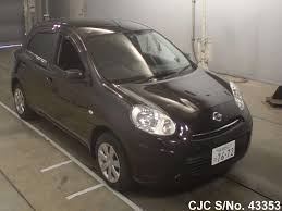 nissan march 2012 nissan march brown for sale stock no 43353 japanese used