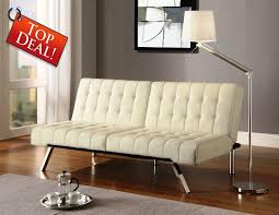 emily convertible futon white u2014 radionigerialagos com