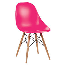 eames style chair eames style chair pink canvas art pop art print