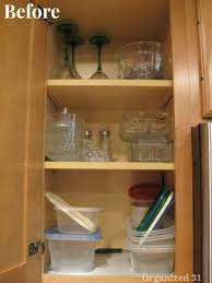how to organize a kitchen cabinets how to reorganize a kitchen organized 31