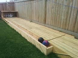 how to build your own backyard bowling alley simplemost