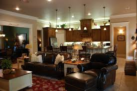 big living room tables open concept kitchen living room designs one big open space