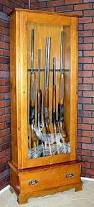 Pine Gun Cabinet 606 Pine Gun Cabinet