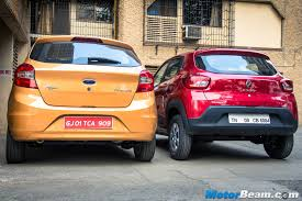 kwid renault price renault kwid vs ford figo motorbeam indian car bike news