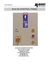 owners manual acs 50 6410t0008 switch electrical wiring