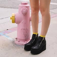 motorcycle booties unif daria boots are back kayla hadlington pinterest indie