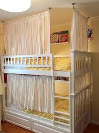 lightweight and breathable bunk bed curtains ikea hackers ikea