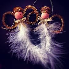feather angel christmas ornaments keep me on my mistletoes