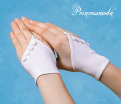 communion gloves rk005 in white communion gloves with roses delicate gloves