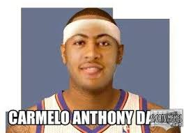 Anthony Meme - carmelo anthony davis meme