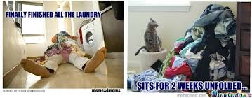 Folding Laundry Meme - laundry y u no fold yourself by luv2laff meme center