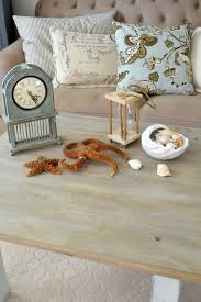 how to make raw wood look like driftwood themed furniture