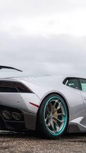 Lamborghini Huracan Back View - download 750x1334 lamborghini huracan silver back view side