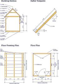Outdoor Wood Shed Plans by Best 25 10x12 Shed Plans Ideas On Pinterest 10x12 Shed Shed