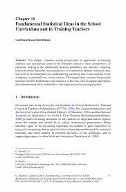 Statistician Resume Cover Letter Fundamental Statistical Ideas In The Curriculum And In