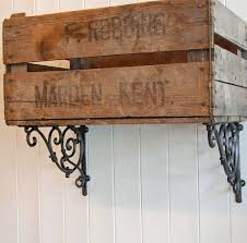 vintage on the shelf best 25 metal shelf brackets ideas on industrial