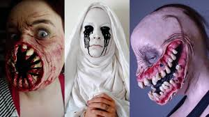 Creepy Makeup Halloween Creepiest Diy Halloween Costumes U0026 Creepy Makeup Youtube