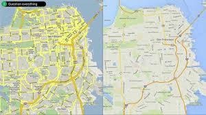 Maps Google Com San Francisco by Google I O 2014 Redesigning Google Maps Youtube