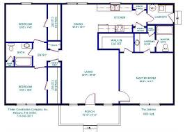 house plans 1500 square tinker construction company inc floor plans
