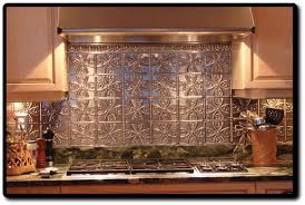 Tin Backsplash Kitchen  Home Design And Decor - Tin tile backsplash