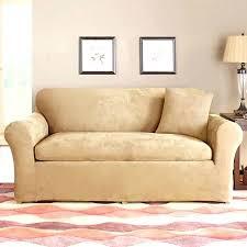 Sofa Loveseat Covers loveseat sure fit sofa loveseat slipcovers ticking stripe
