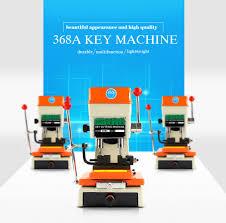 free shipping mutifuncation key cutting machine 368a for copy
