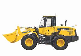 komatsu upgrades wheel loader lineup with new wa250 6 sae