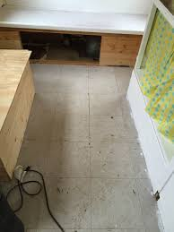 Peel And Stick Wood Floor The Dabbling Crafter Diy Peel And Stick Flooring In Vintage Trailers
