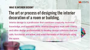 Interior Designer Course by La Interior Design Course