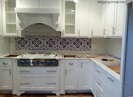 Cluny Cement Tile BacksplashOh Yeah - Cement tile backsplash