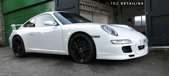 porsche white 911 porsche 911 carrera 997 altec detailing
