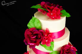 how to make a wedding cake decorating a wedding cake part 3