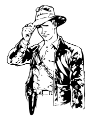indiana jones coloring book pages 5 coloring