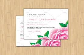 donation cards template 28 images wedding favor donation card