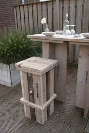 Pallet Garden Furniture Diy Steigerhout Stoer Stoere Tuinbar Van Steigerhout Pallets Diy