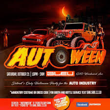 autoween detroit u0027s only halloween party for the auto industry