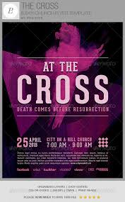 the cross church flyer template by philzter graphicriver