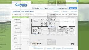 Jacobsen Mobile Home Floor Plans by Interactive Floor Plan Manufactured Homes By Clayton Homes Youtube