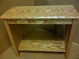 Oak Sofa Table Custom Mission Style Oak Sofa Table By Db Custom Wood Shop