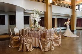 wedding table covers chair covers linens bridal elegance