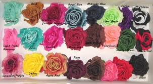 different color roses silk roses for hat trim choose from 48 colors that way hat new