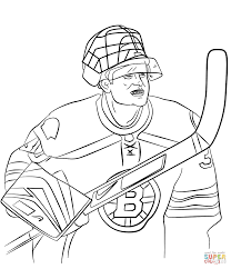 tim thomas coloring page free printable coloring pages