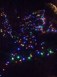 low cost variable intensity programmable ac led christmas lights
