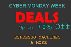 which delonghi espresso machine amazon black friday deal cyber monday week deals on espresso machines