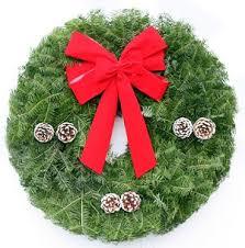 live christmas wreaths wreaths for christmas live fresh wreath