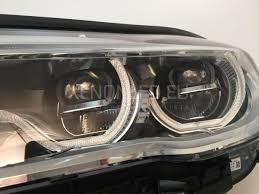 bmw laser headlights bmw 7 serijos g11 g12 2015 adaptive full led priekiniai žibintai