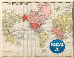 printable map of usa digital map hight printable vintage