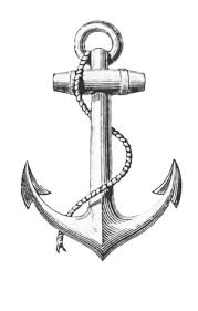 hold fast anchor tattoo with pirate ship
