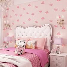kids room wallpapers girls bedroom nonwovens warm korean style kids room wallpapers girls bedroom nonwovens warm korean style pastels pink 3d wall murals princess phalaenopsis wallpapers in wallpapers from home