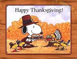 tin ups tin sign snoopy happy thanksgiving peanuts